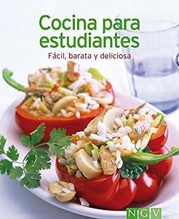 Recetas cocina para estudiantes