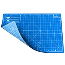 ANSIO A3 Double Sided Self Healing 5 Layers Cutting Mat Imperial/Metric 18 Inch x 12 Inch / 45cmx 30cm - Sky Blue / True Blue