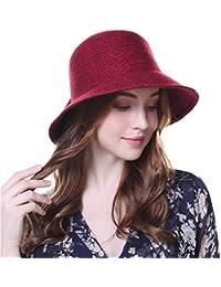 0f46d47f347 1920s Vintage Wool Felt Bucket Cloche Bowler Hat for Women