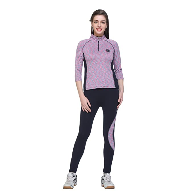 61bfdcf1713 Ex sive multicolor polyster lycra fabric sleeve tracksuit for women  clothing accessories jpg 679x679 Lycra tracksuit