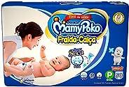 Fralda-Calça MamyPoko Tamanho P, Pacote com 50 unidades