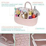 Baby Rope Diaper Caddy Organizer - Premium Large