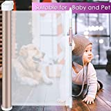 Babepai Retractable Baby Safety Gate - 3-Direction