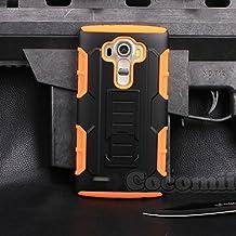 LG G4 Case, Cocomii® [HEAVY DUTY] LG G4 Robot Case **NEW** [ULTRA FUTURE ARMOR] Premium Belt Clip Holster Kickstand Bumper Case - Full-body Rugged Protective Cover for LG G4 (Black/Orange) ★★★★★