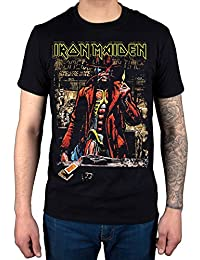 AWDIP Official Iron Maiden Stranger Sepia T-Shirt