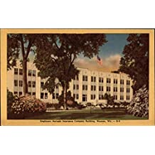Employers Mutuals Insurance Company Building Wausau, Wisconsin Original Vintage Postcard