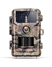 4K Lite Trail Cameras-20MP Game Hunting Camera with 120°Wide-Angle 42pcs IR LEDs Infrared Night Vision IP56 Waterproof for Wildlife Monitoring