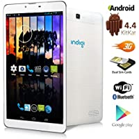 Indigi® 7 Android 4.4 KK Tablet PC w/ Sim Card Slot for 3G Wireless SmartPhone