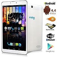 Indigi® 7 Android 4.4 KK Tablet PC w/ Sim Card Slot for 3G Wireless SmartPhone