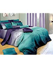 Vitara Quilt Cover Set, 3 Piece Duvet Cover Set Includes 2 Pillowcases, Doona Cover Set (Queen Size)
