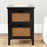 Jonah 2 Drawer Nightstand Finish: Black