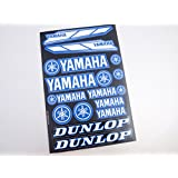Yamaha Stickers Decals 30x20cm vinyl with extra protection on top (Blue)
