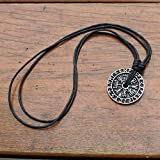 Nordic Coin Icelandic Viking Jewelry - Protection