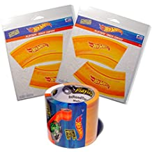 Hot Wheels PlayTape Orange - Single Roll Starter Pack - Road Car Tape Great for Kids, Sticker Roll for Cars and Train Sets, Stick to Floors and Walls, Quick Cleanup, Children Toys Birthday Gift