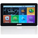 JHM® 7 inch Portable Built-in 8GB Car GPS Navigation LCD Touch Screen WINCE 6.0 HD Vehicle GPS Navigator (FM +...