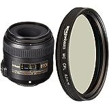 Nikon AF-S DX Micro-NIKKOR 40mm Close-up Lens with Circular Polarizer Lens - 52 mm