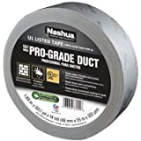 Nashua 557 Premium Grade Flex Duct Tape: 2 in. x 60 yds. (Metallic) by Nashua
