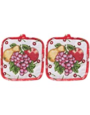 Squared Hot Pot Pad, Red
