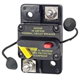 Blue Sea Systems 285-Series Surface Mount 50A Circuit Breaker
