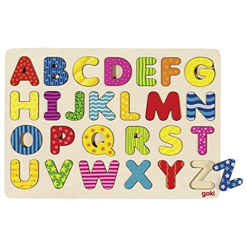 Goki maderaPuzzles de maderaGOKIAbecedario Puzzle, 1 product image