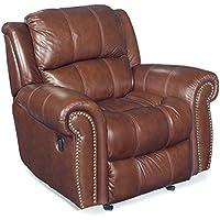 Hooker Furniture Seven Seas Glider Recliner Chair in Cognac