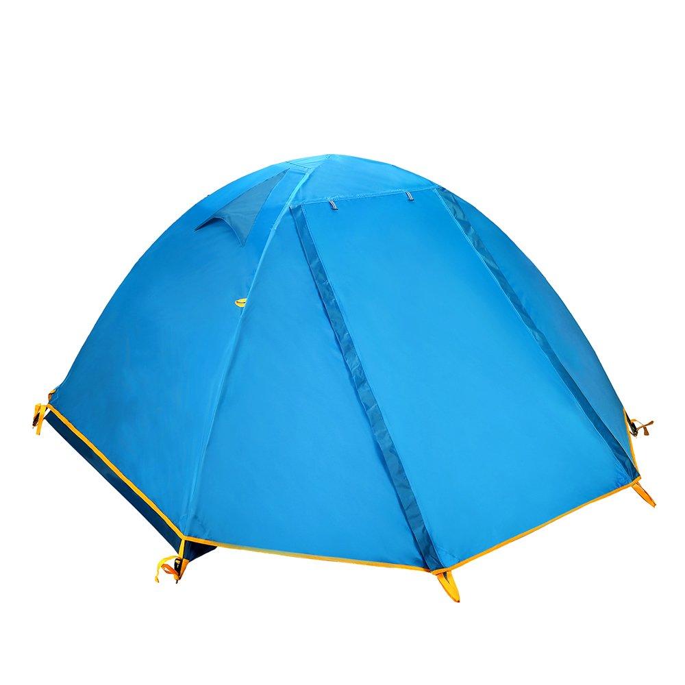 QB-tent Zelt im Freien 2 Leute Starkes regendichtes kampierendes Ausrüstungsfeld liefert Doppeltes Zelt