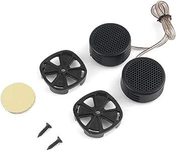 Fashionlook Universal 2 X 500 Watts Super Power Loud Dome Tweeter Speakers for Car Mini Dvi to Hdmi High Efficiency Vehicle Loudspeaker Pair of Dome Tweeter