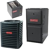 4 Ton 14.5 Seer Goodman 100,000 Btu 96% Afue Dual Fuel System GSZ140491 - CAPF4961C6 - GMVC961005CN - TX5N4