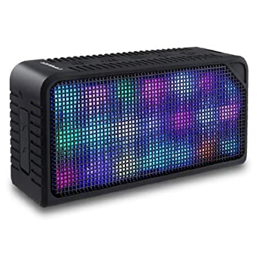 Bluetooth Speakers,URPOWER Hi-Fi Portable Wireless Stereo Speaker with 7 LED Visual Modes and Build-in Microphone Support Hands-free Function, for iPhone 6s Plus,6s,Samsung,Tablets and More