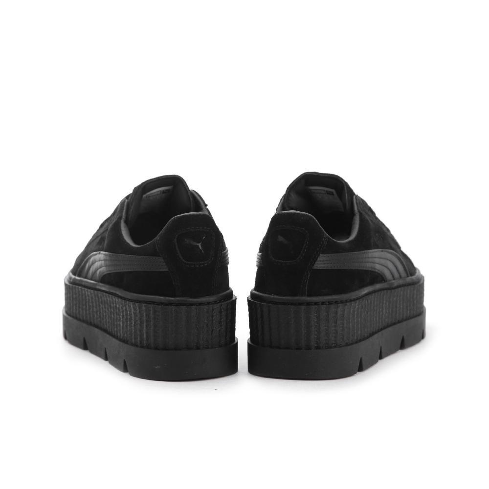 PUMA Womens Fenty by Rihanna Tan Cleated Creeper 36626802 Sneakers Shoes B074KHP4PF 9.5 B(M) US|Puma Black