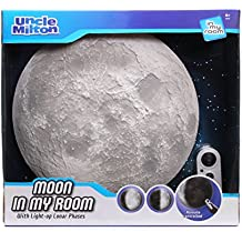Moon In My Room Remote Control Wall Décor Night Light - Uncle Milton