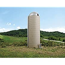 Walthers Cornerstone HO Scale Building/Structure Kit Concrete-Style Barn Silo