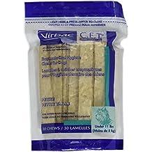 Virbac C.E.T. Enzymatic Oral Hygiene Chews for Petite Dogs, 30 Chews