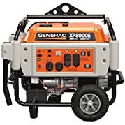 Generac 5931, 8000 Running Watts/10000 Starting Watts, Gas Powered Portable Generator