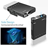 Mini Projector, Vamvo Ultra Mini Portable Projector