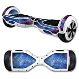 MightySkins Protective Vinyl Skin Decal for Self Balancing Scooter Board mini hover 2 wheel x1 razor wrap cover sticker Nebula