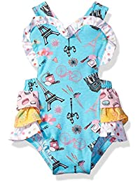 Jelly The Pug Girls' Sunsuit