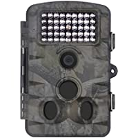 XIKEZAN 1080P HD Trail & Game Camera,12MP Mini Night Vision Wildlife Camera with Time Lapse & 2.4 LCD Screen