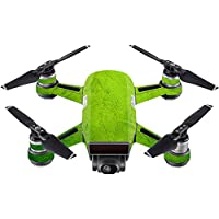 Skin For DJI Spark Mini Drone – Green Cement | MightySkins Protective, Durable, and Unique Vinyl Decal wrap cover | Easy To Apply, Remove, and Change Styles | Made in the USA