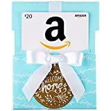 Amazon.ca $20 Gift Card in a Welcome Home Reveal (Classic Black Card Design)
