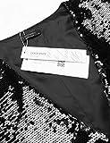 COOFANDY Men's Slim Fit Sequins Vest V-Neck Shiny