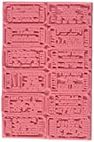 Tim Holtz Cling Rubber Stamp-Ticket