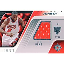 2004-05 Ultimate Collection Game Jerseys #LD Luol Deng Jersey /175 - NM-MT