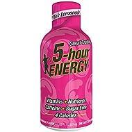 Regular Strength 5-hour ENERGY Shots – Pink Lemonade – 24 Count