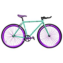 Zycle Fix ZF-HRNT-41 Hornet Fixed Gear Bike, 41cm/One Size Frame