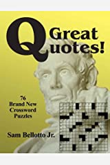 Great Quotes: 76 Brand New Crossword Puzzles