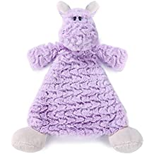 Nat and Jules Rattle Blankie, Harlow Hippo