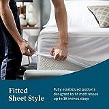 LUCID Encasement Mattress Protector - Completely