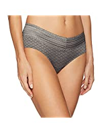 Warners womens No Pinching No Problems No Muffin Top Lace Hipster Panty