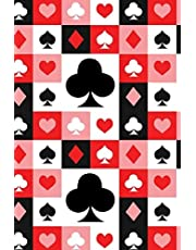 """NoteBook: Random Playing Cards; Exercise Book 190 Lined Journal Pages 